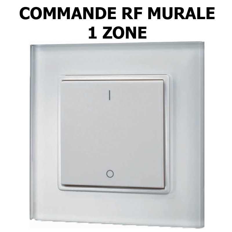 commande mural RF 1 zone