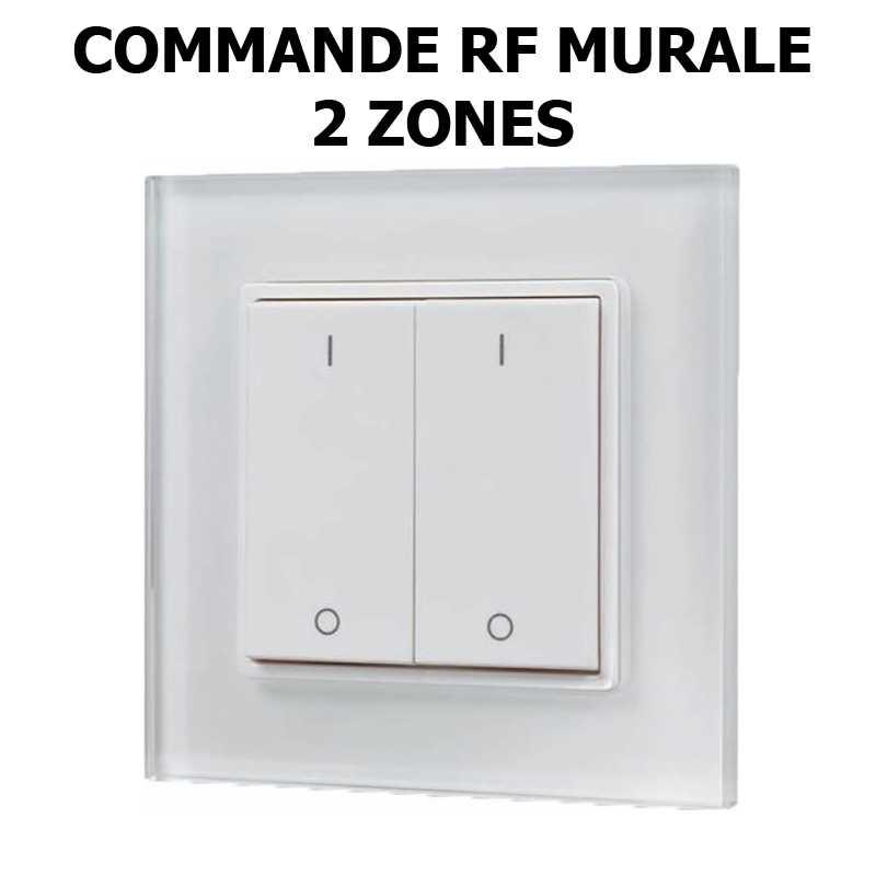 commande mural RF 2 zones
