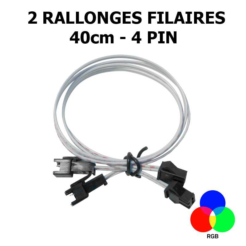 CABLE RUBAN LED RGB LUMIHOME RGB/RCR50