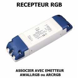 RECEPTEUR CONTROLEUR LED RGB