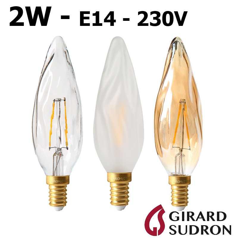 Ampoule LED flamme Torche 5W GIRARD SUDRON