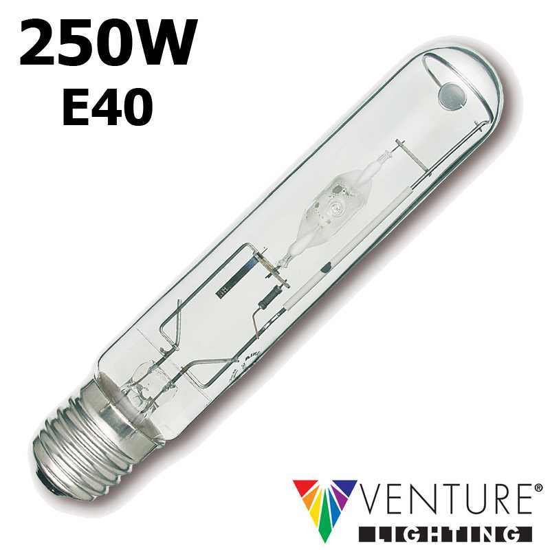Lampe iodure 250W VENTURE DUAL tubulaire