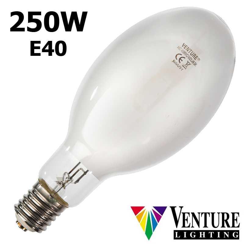 Lampe iodure 250W VENTURE DUAL ovoïde