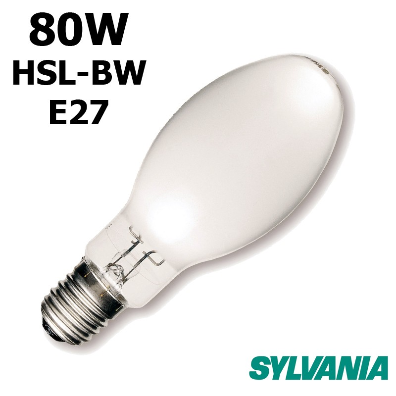 Lampe mercure SYLVANIA HSL-BW 80W