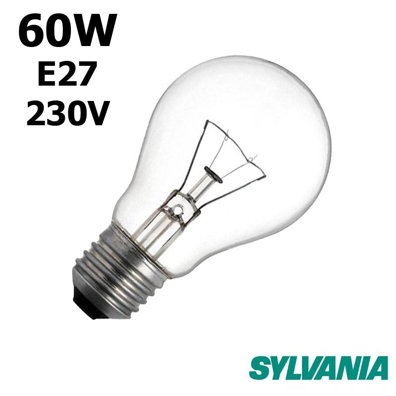 Ampoule standard 60W E27 230V