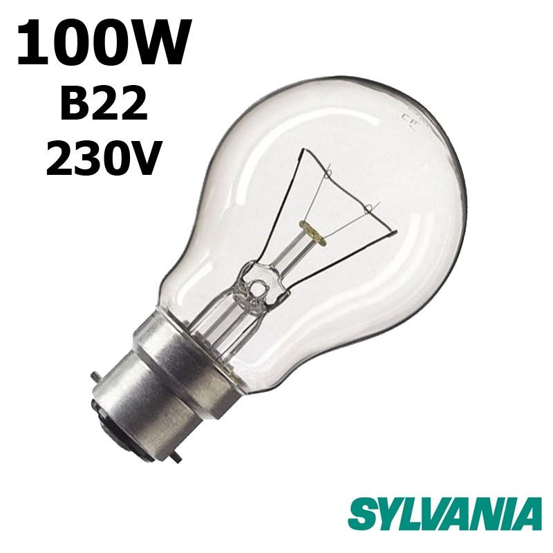 Ampoule standard 100W B22 230V