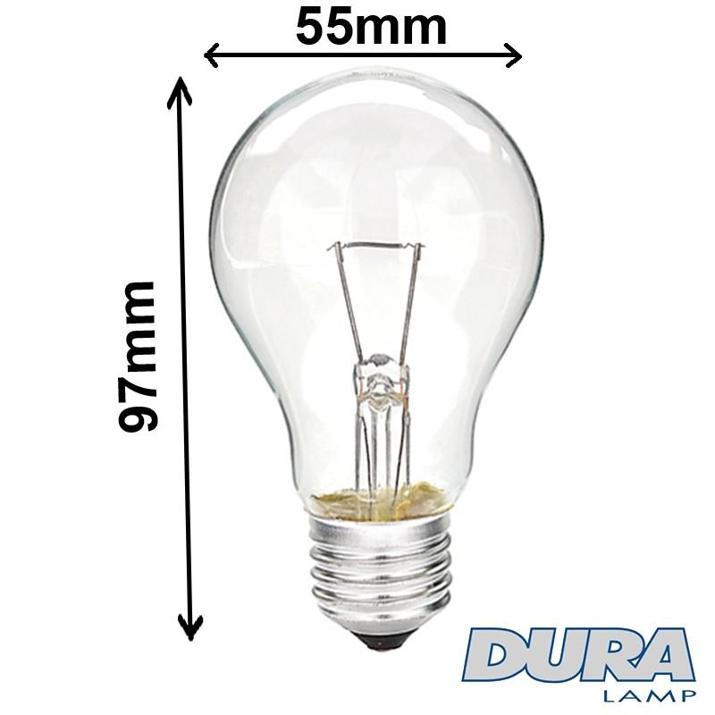 Lampe 60W 24V E27