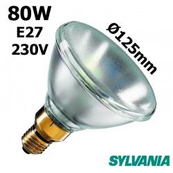 Ampoule réflecteur PAR38 80W E27 230V