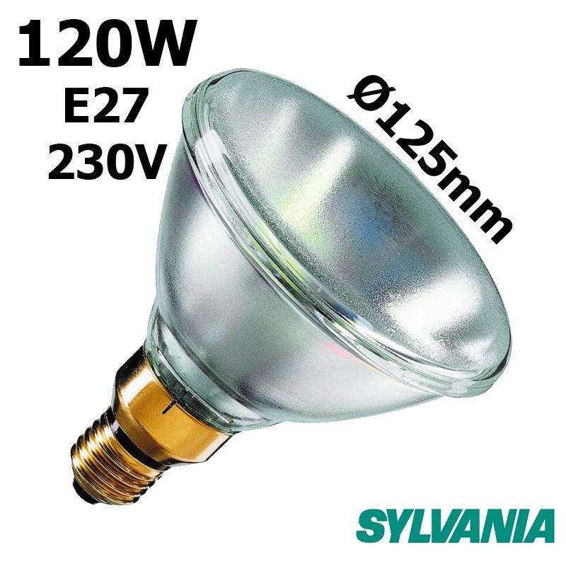 Ampoule réflecteur PAR38 120W E27 230V