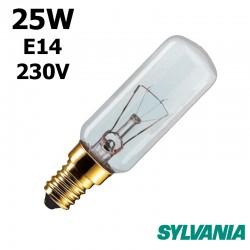 Ampoule tubulaire 25W E14 230V