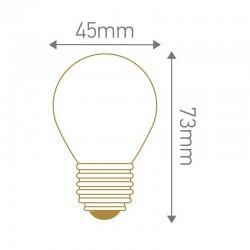 Lampe LED sphérique dépoli E27 GIRARD SUDRON 160104
