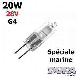 Ampoule 20W 28W G4