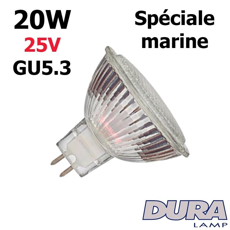 Ampoule 20W 25V GU5.3