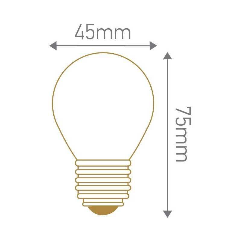 Lampe LED sphérique E27 GIRARD SUDRON