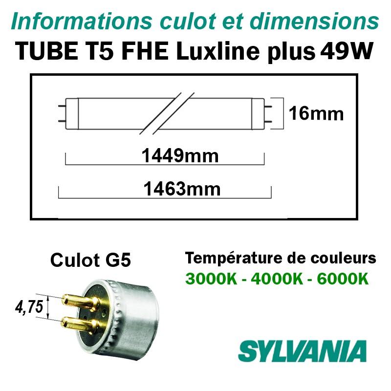 SYLVANIA LUXLINE PLUS 49W T5