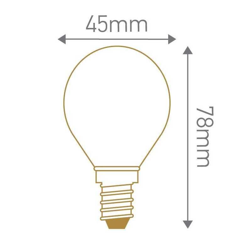 Lampe LED sphérique E14 GIRARD SUDRON