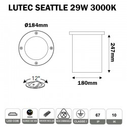 LUTEC SEATTLE 7007A-LED
