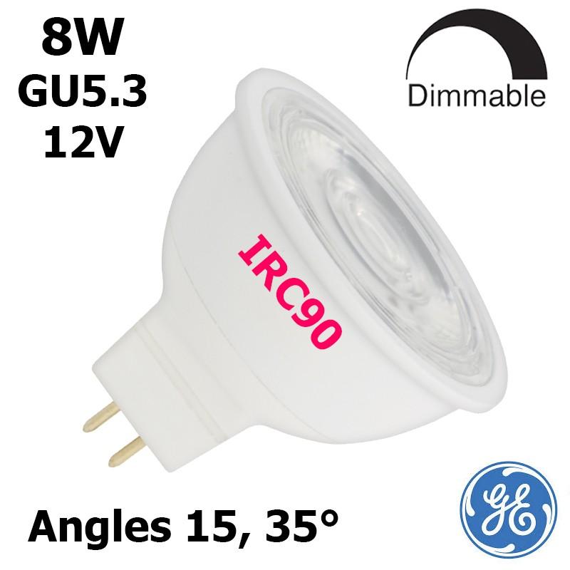 Led Constant Ge Ampoule Gu5 8w 12v Irc90 Color 3 nOXk8w0P