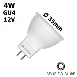 BENEITO TUTTO MR11 Ø35mm - 4W GU4 12V