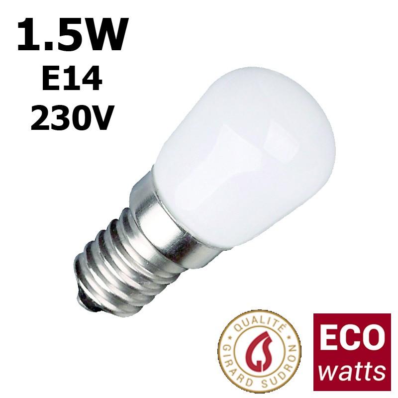 Ampoule frigo 1.5W E14 230V