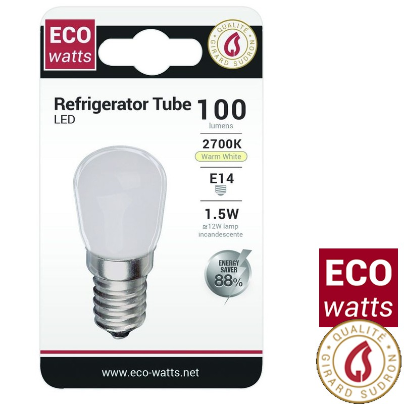 Ampoule poirette LED - Eco Watts