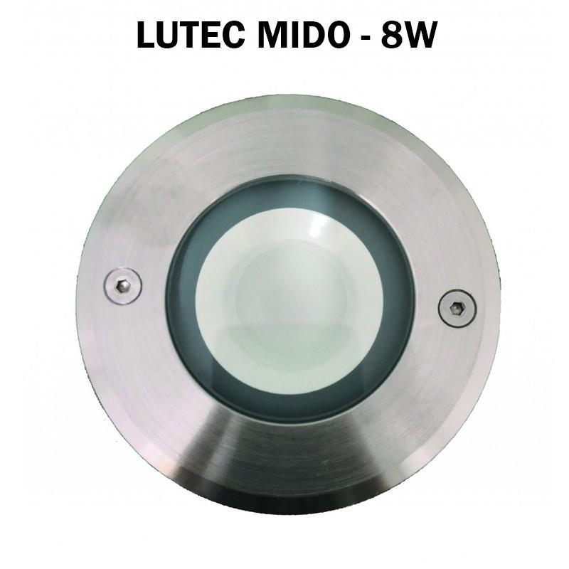 Spot encastre de sol 8W - LUTEC MIDO