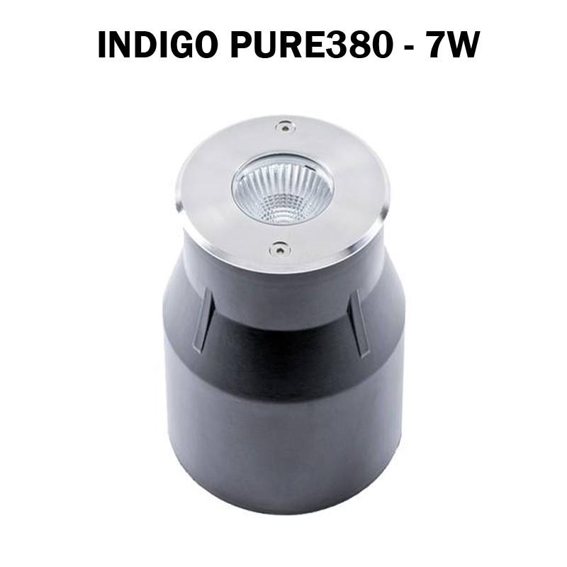 Spot encastre de sol 7W - INDIGO PURE 380