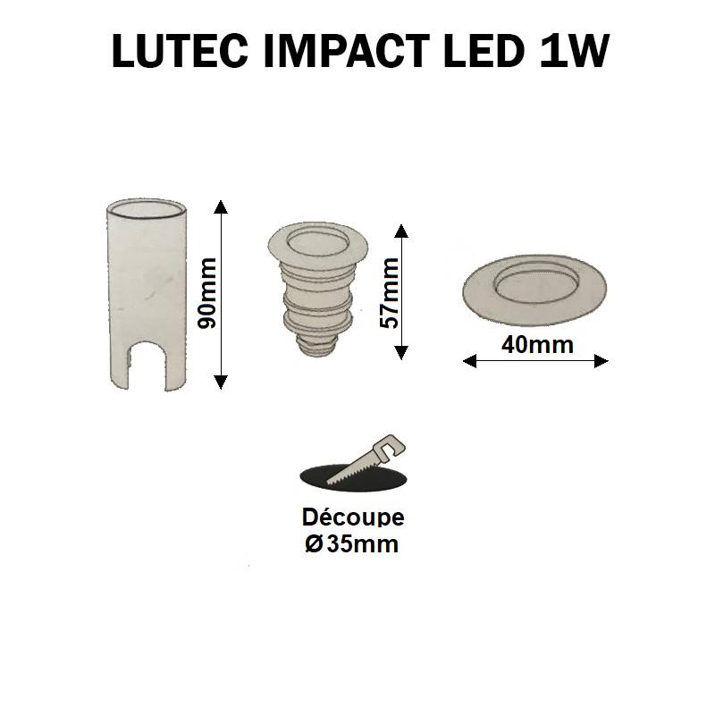 Encastré LED terrasse