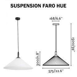Luminaire suspendu FARO HUE