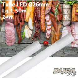 Tube LED boucherie 1,50m culot G13
