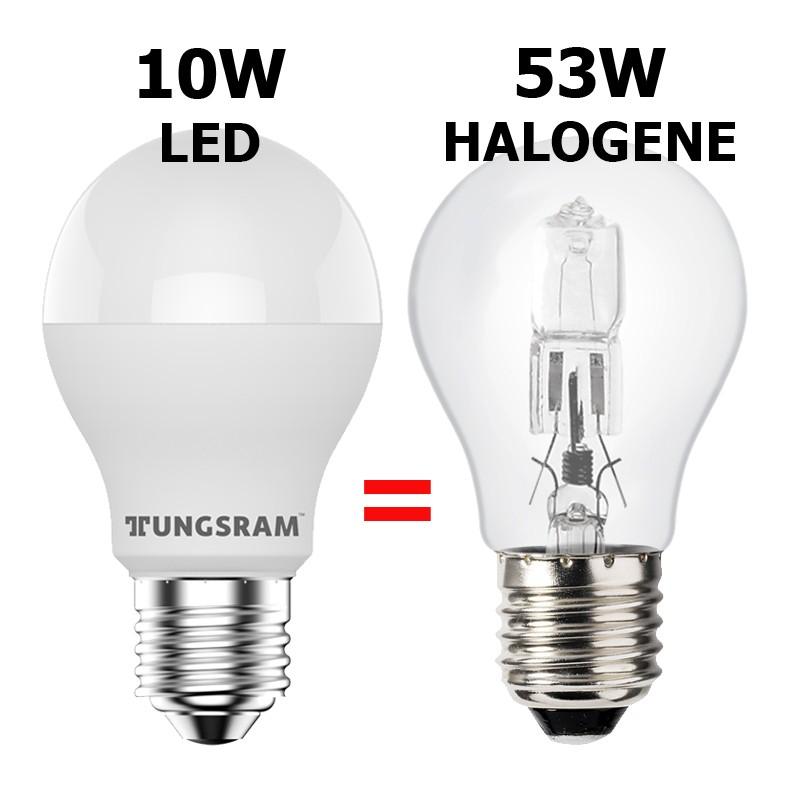 Ampoule eco-halogène 57W E27 230V RADIUM OSRAM