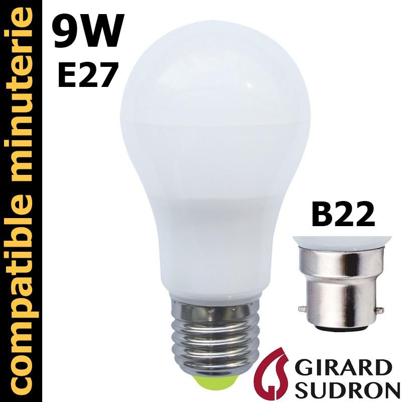 Ampoule LED standard 9W GIRARD SUDRON