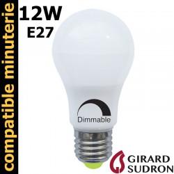 Ampoule LED standard gradable 12W GIRARD SUDRON