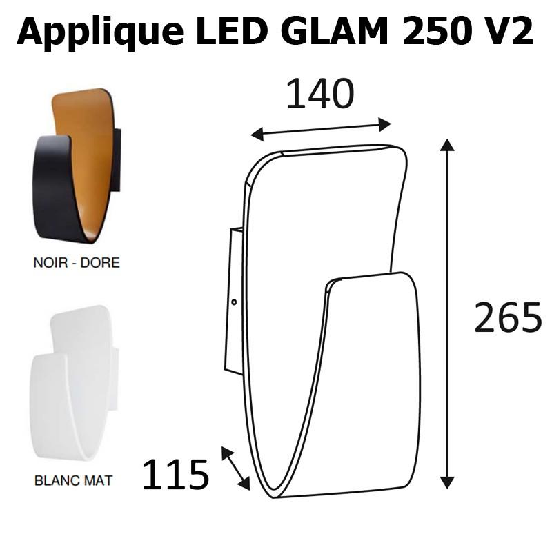Applique INDIGO GLAM 265
