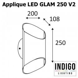 Applique INDIGO GLAM 250V2