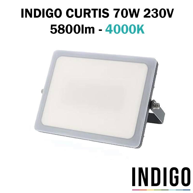 INDIGO CURTIS 70W - Projecteur extérieur