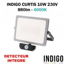 INDIGO CURTIS 10W - Projecteur avec détecteur