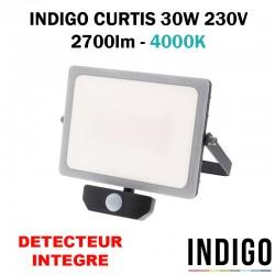 INDIGO CURTIS 30W - Projecteur avec détecteur