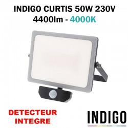 INDIGO CURTIS 50W - Projecteur avec détecteur