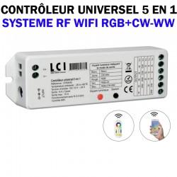 Contrôleur RGB CW WW - LCI 5700045
