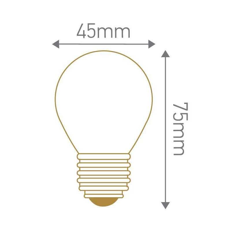 Lampe sphérique calotte argentée E27 GIRARD SUDRON 15648