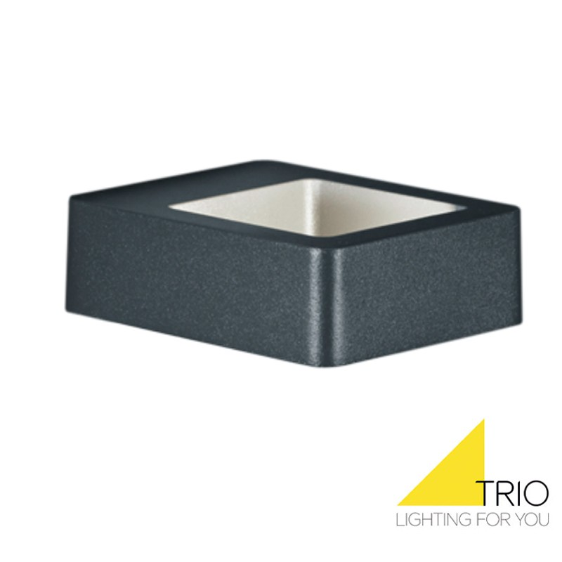 TRIO RENO APPLIQUE ANTHRACITE