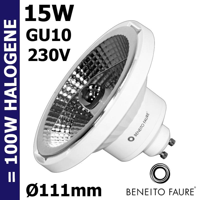 Ampoule LED réflecteur 15w GU10