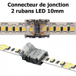 Connecteur pour associer 2 rubans LED 10mm
