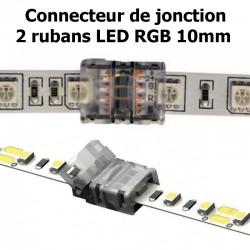 Connecteur pour associer 2 rubans LED RGB 10mm