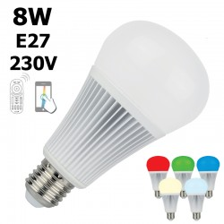 Ampoule LED connectée E27 - LUMIHOME