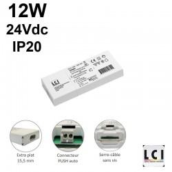 Transformateur 24Vdc 12V - LCI1600600