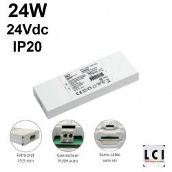 Transformateur 24Vdc 24V - LCI1600605