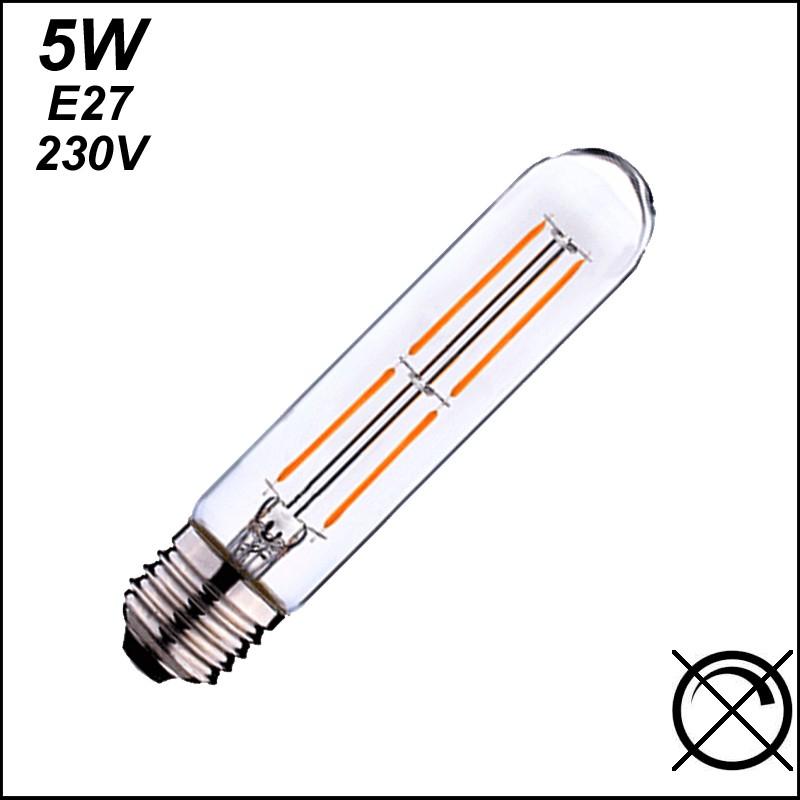 Ampoule LED tubulaire Duralamp 5W E27 230V