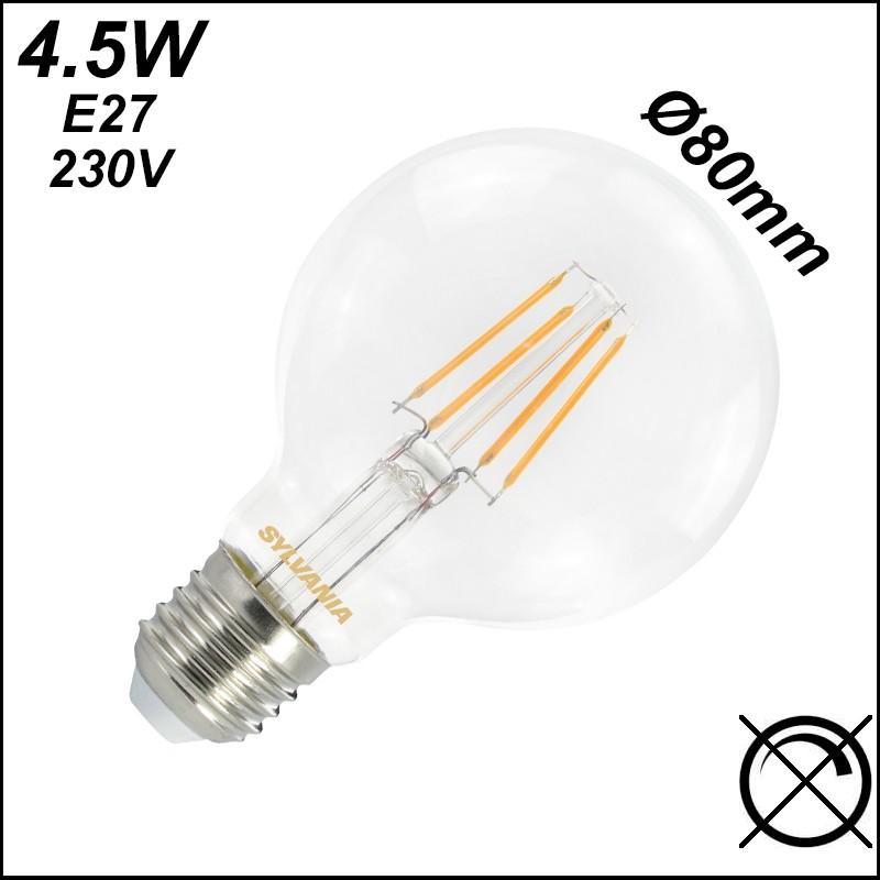 Ampoule globe LED Ø80mm - SYLVANIA 0027170